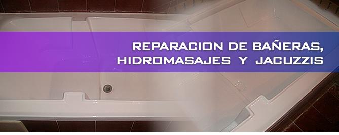 Reparaci n de hidromasajes for Reparacion de baneras